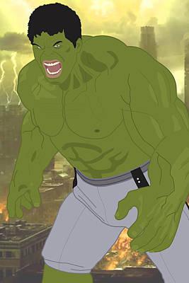 The Incredible Hulk - Avengers Art Print