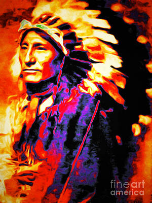 Casa Grande Photograph - The Indian Chief 20151227 by Wingsdomain Art and Photography