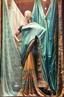 Photograph - The Indian Sari by Kim Bemis