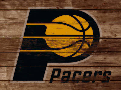 Indiana Pacers Mixed Media - The Indiana Pacers 3b by Brian Reaves