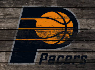 Indiana Pacers Mixed Media - The Indiana Pacers 3f by Brian Reaves