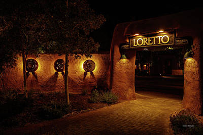 Photograph - The Inn At Loreto- Santa Fe, Nm by Tim Bryan