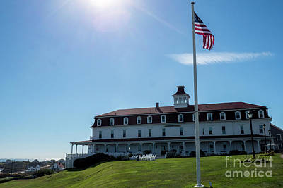 Photograph - The Inn At Spring House Beautiful Inns And Hotels On Block Island Rhode Island 2 by Wayne Moran