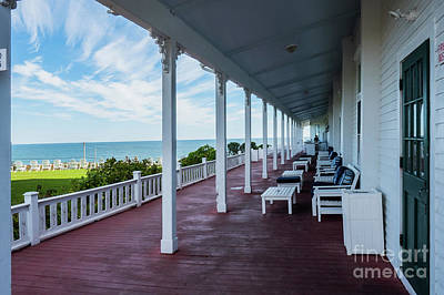 Photograph - The Inn At Spring House Beautiful Inns And Hotels On Block Island Rhode Island 3 by Wayne Moran