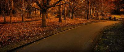 Photograph - The Innocent Railway Path by Jean-Noel Nicolas