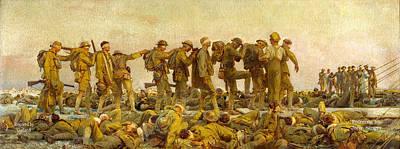 The Insanity Of War Art Print by Garland Johnson