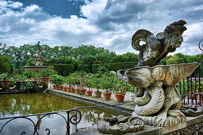 Photograph - Inside The Boboli Gardens Of Firenze by Fine Art Photography Prints By Eduardo Accorinti