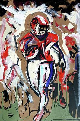 Painting - The Interception by John Jr Gholson