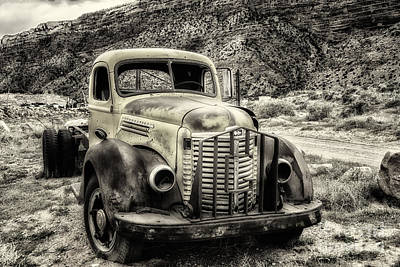 Photograph - The International Harvester Kb-7  by Bitter Buffalo Photography