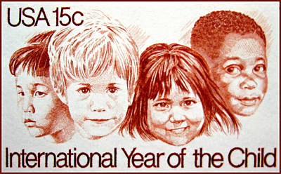 Philadelphia History Painting - The International Year Of The Child by Lanjee Chee