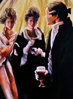 The Introduction Art Print by Stuart Gilbert