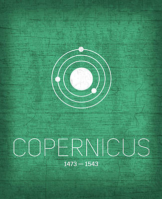 The Inventors Series 001 Copernicus Art Print by Design Turnpike