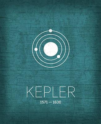 The Inventors Series 003 Kepler Art Print by Design Turnpike