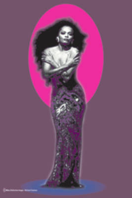 The Invincible Diana Ross Art Print