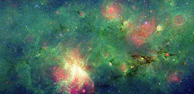Art Print featuring the photograph The Invisible Dragon by NASA JPL-Caltech