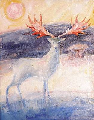 Painting - The Irish Elk by Trudi Doyle