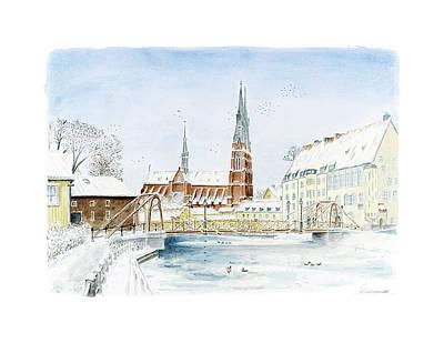 Painting - The Iron Bridge by Torbjorn Swenelius