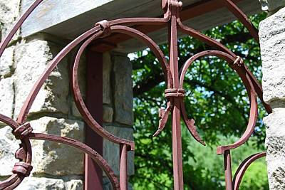 Photograph - The Iron Gate I by Michiale Schneider