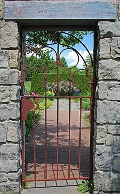 Photograph - The Iron Gate IIi by Michiale Schneider