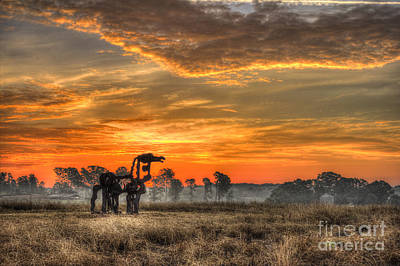 The Iron Horse 517 Sunrise Art Print