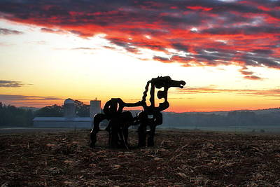 Photograph - The Iron Horse And Friends Art  by Reid Callaway