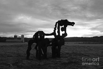 Photograph - The Iron Horse Classic Art by Reid Callaway