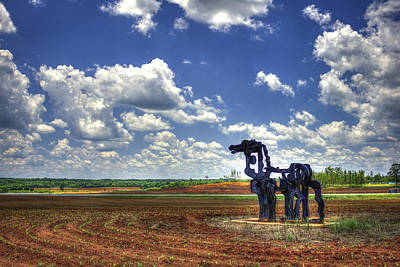 Photograph - The Iron Horse Planted Corn  by Reid Callaway