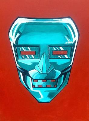 The Iron Mask Art Print by George Penon Cassallo