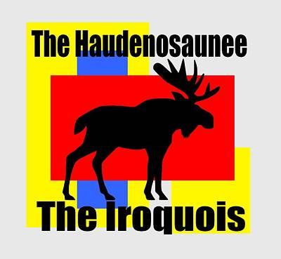 The Iroquois Art Print by Otis Porritt