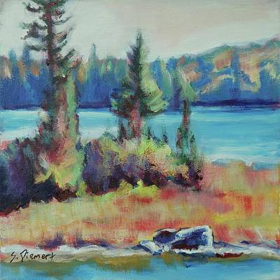Painting - The Island - 003 Of Celebrate Canada 150 by Sheila Diemert