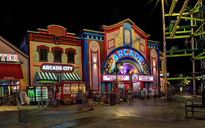 Photograph - The Island Arcade by Greg Mimbs