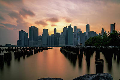 Photograph - The Island Of Manhattan  by Anthony Fields