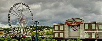 Photograph - The Island Pigeon Forge Tn by Ules Barnwell