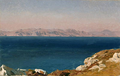 Frederic Leighton Painting - The Isle Of Chios by Frederic Leighton