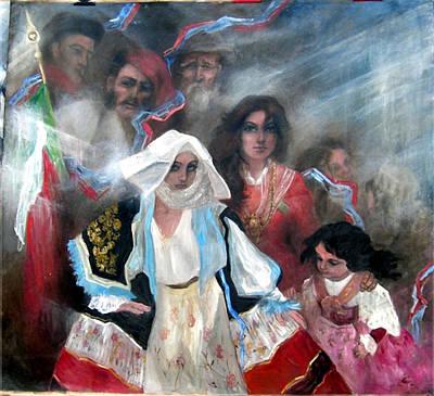 The Italia Family Art Print by Elisabeth Nussy Denzler von Botha