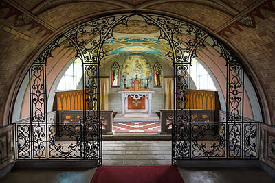 Photograph - The Italian Chapel by Dave Bowman