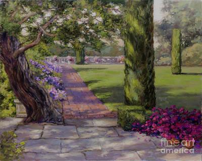 Painting - The Italian Garden by Kristen Olson Stone