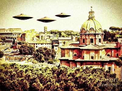 Paranormal Digital Art - The Italian Job By Raphael Terra by Raphael Terra