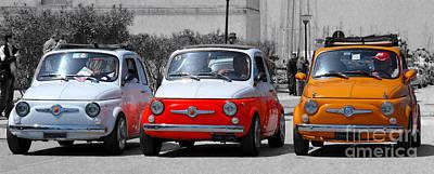 The Italian Small Car Art Print by Alessandro Matarazzo