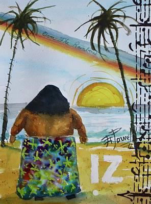 The Iz Art Print