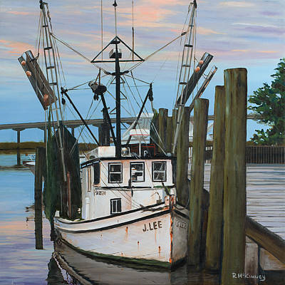 Painting - the J LEE by Rick McKinney