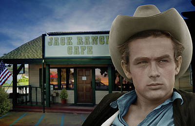 Digital Art - The Jack Ranch Cafe by Cindy Anderson