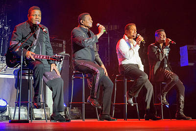 J5 Photograph - The Jacksons by Frits Lourens