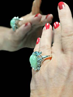 Photograph - The Jade Ring by Diana Angstadt