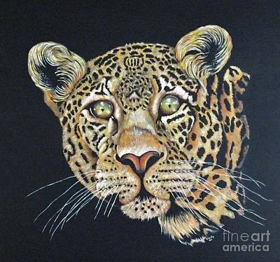 1920s Flapper Girl - The Jaguar - Acrylic Painting by Cindy Treger