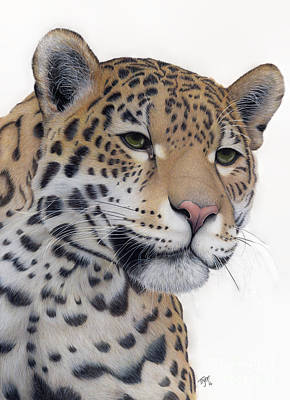 Painting - The Jaguar by Tanya Tyrer