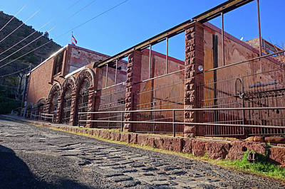 Photograph - The Jail Cells Of Jerome Arizona by Toby McGuire