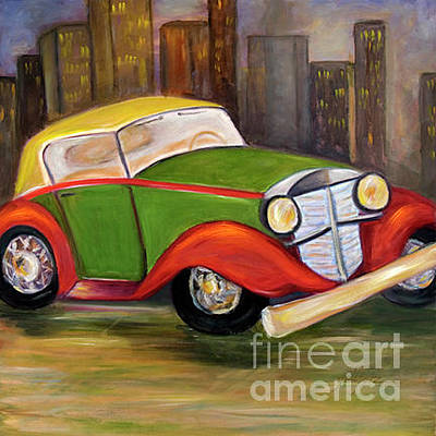 Painting - The Jalopy by Pati Pelz