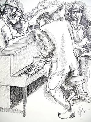 The Jam Art Print by Gary Galarza