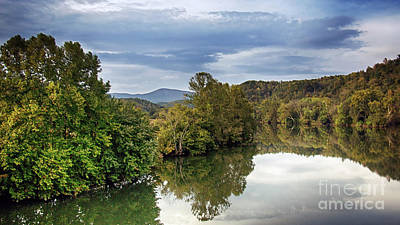 Nature Photograph - The James River Panoramic by Tom Gari Gallery-Three-Photography